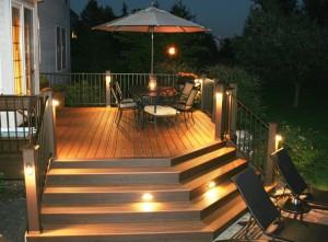 trex deck lighting