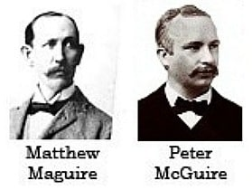 Maguire and McGuire Labor Day founders