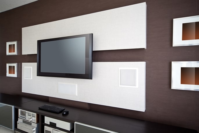 Smart Home Entertainment center