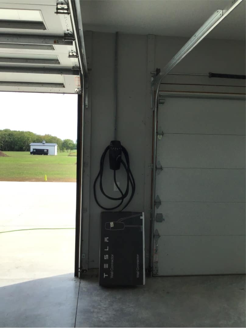 Tesla Charger Install